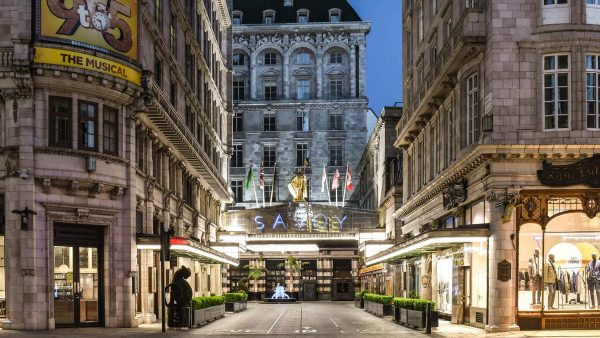 The Savoy opens outdoor bar in forecourt for first time