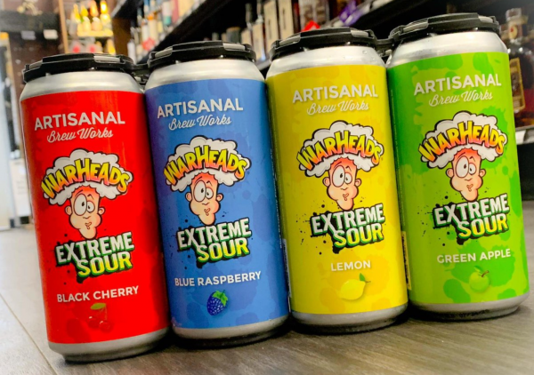 You can now buy Sour Warhead flavoured alcoholic beer and seltzers
