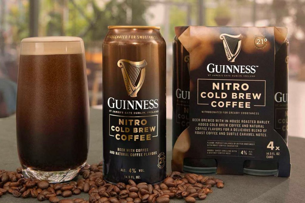Guinness Cold Brew Coffee Beer