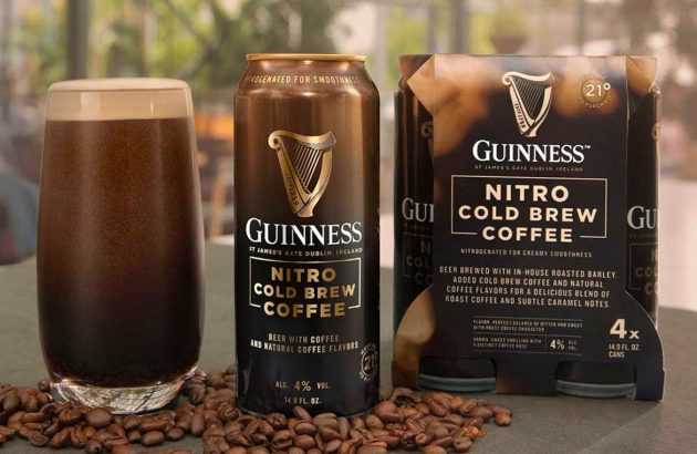 Guinness launches Nitro Cold Brew Coffee beer