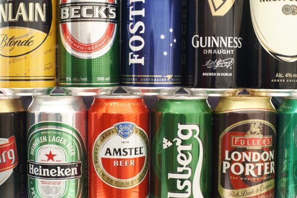 The UK's favourite beers in 2020 have been revealed for the on-trade
