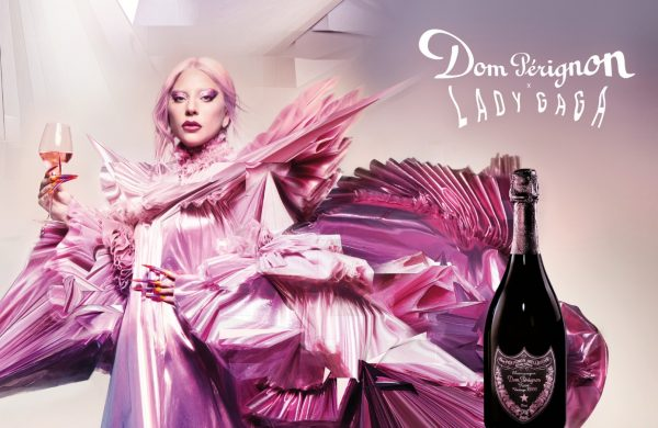 Lady Gaga creates Dom Pérignon 'sculpture'