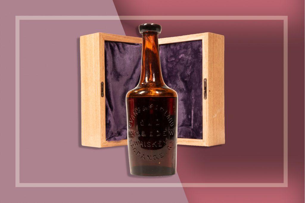 oldest whiskey bottle