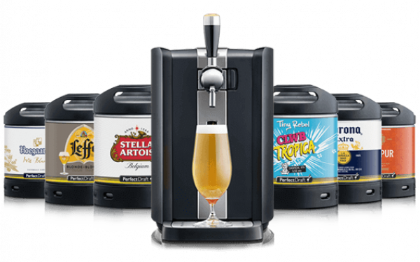You can now buy the famous Phillips PerfectDraft home beer tap from Aldi