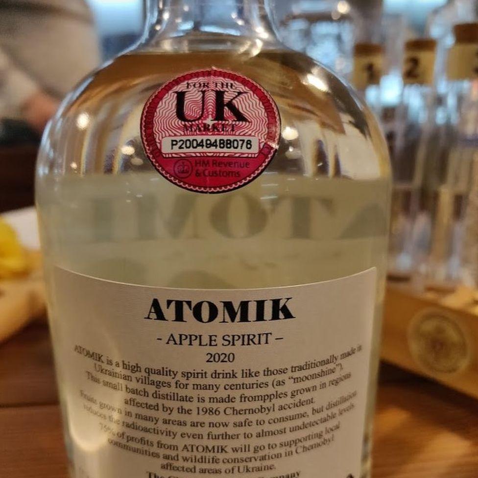 Alcoholic drink Chernobyl