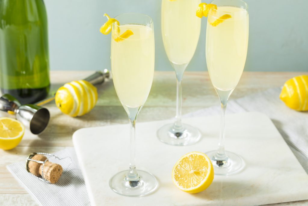 best drinks: French 75