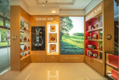 Louis XIII opens first 'shop-in-shop' in Southeast Asia