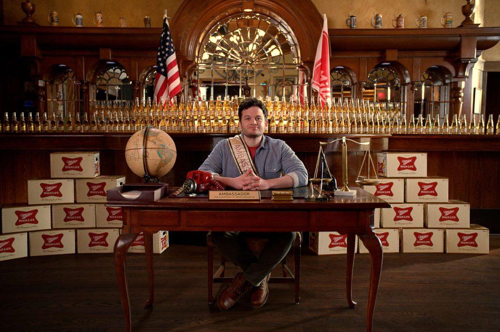 Miller High Life beer ambassador