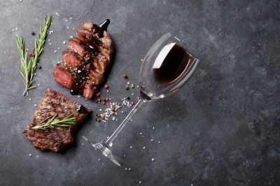 What's the best wine to have with steak?