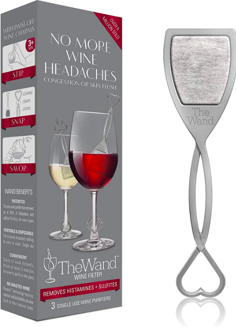 The 'wine wand' product - claims to reduce your hangover