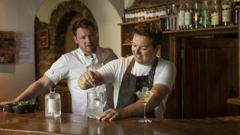 Chef Tommy Banks launches canned wine range