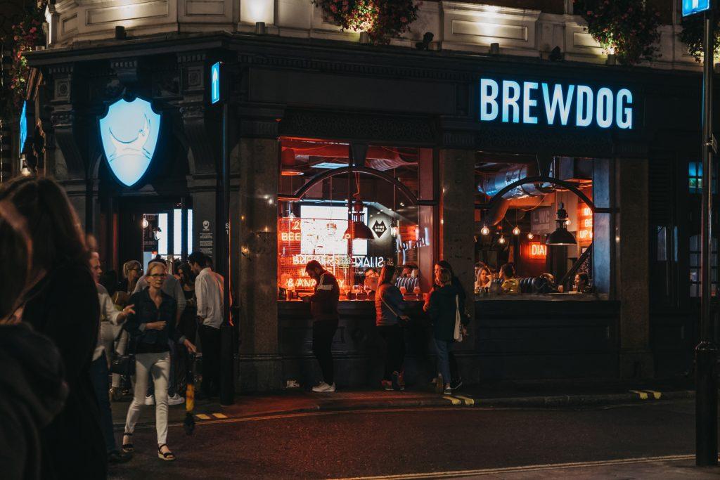 BrewDog allegations - a BrewDog pub