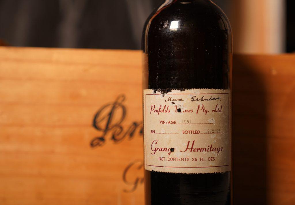 Penfolds Grange 1951 breaks world record price