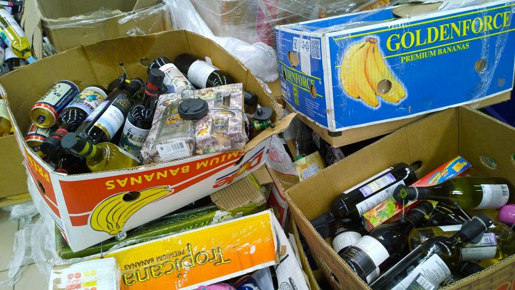 Counterfeit booze seized