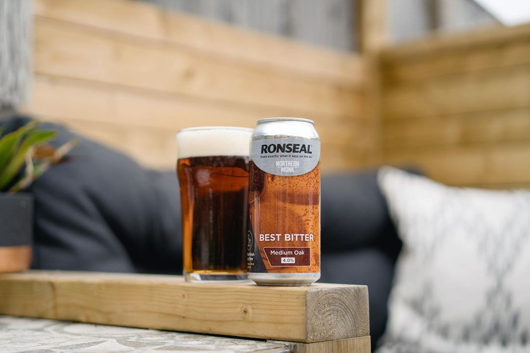 Glass of Medium Oak: Leeds-based brewery northern monk launches paint company collaboration