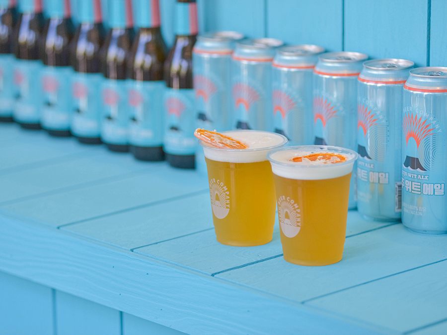 Pints of Jeju Beer with a slice of orange: South korean craft beer makes advances in Europe