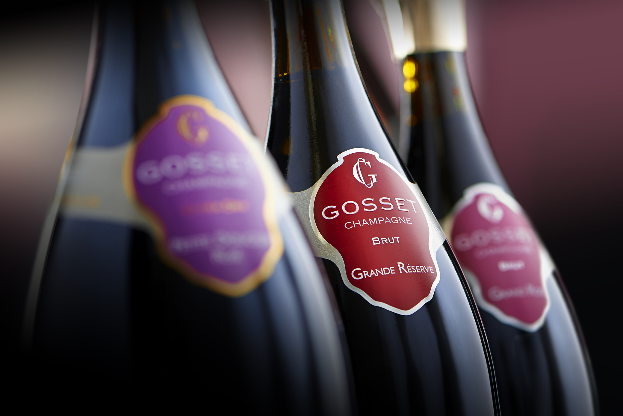 bottles of champagne: Winners of Gosset Champagne Matchmakers competition revealed