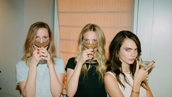 The Delevingne sisters take their Prosecco stateside