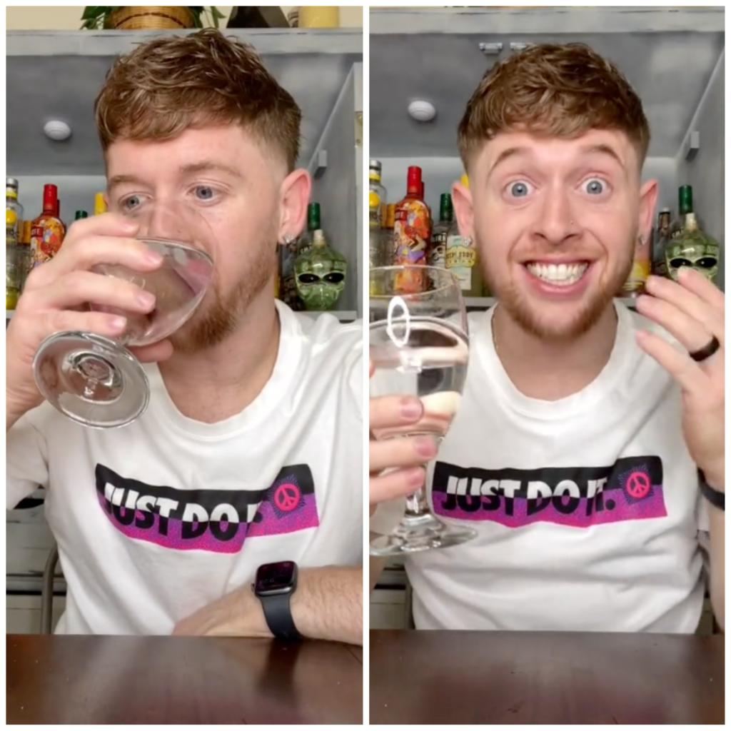 TikTok Tequila hack