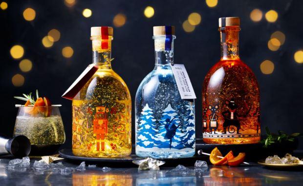 M&S unveils glittering gin liqueurs as part of 2021 Christmas range
