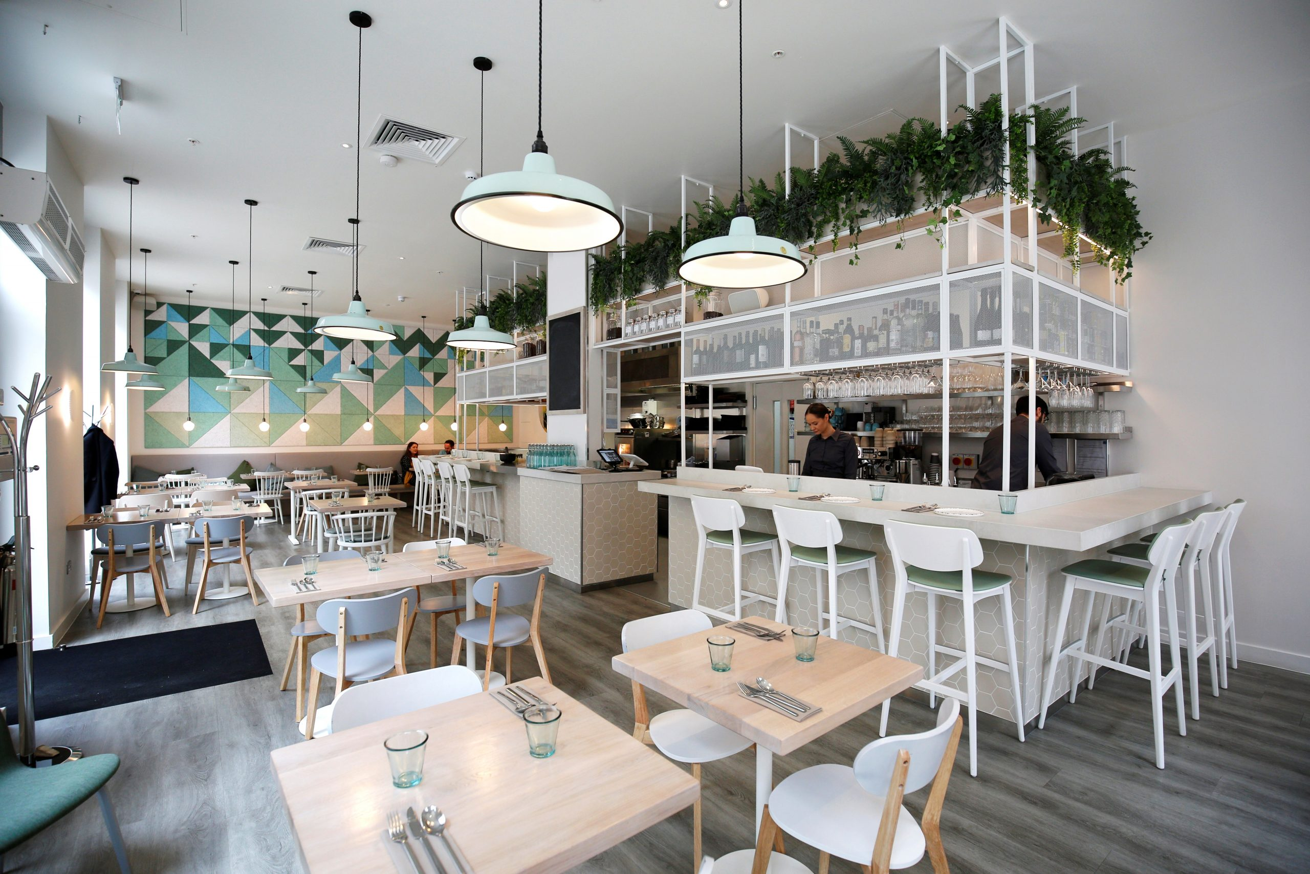 Stem & Glory interior: stem & glory first restaurant to commit to carbon neutral by end of 2021