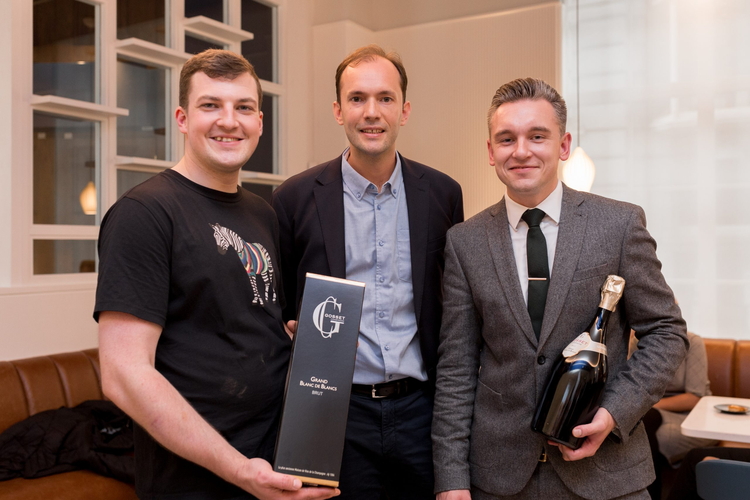 Winners of the Gosset Champagne Matchmakers 2021 competition revealed