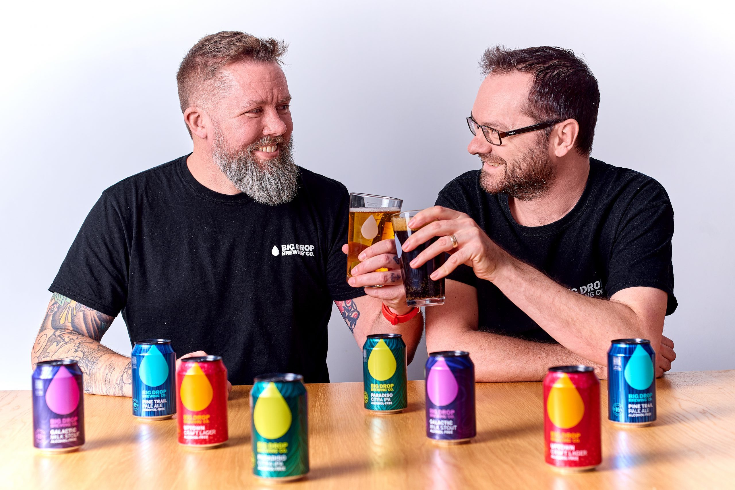 Rob Fink and James Kindred of Big Drop Brewing Co: How is alcohol free beer made? We ask the experts