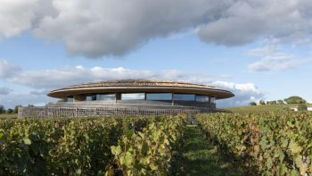 New Le Dôme winery has design geeks hot under the collar