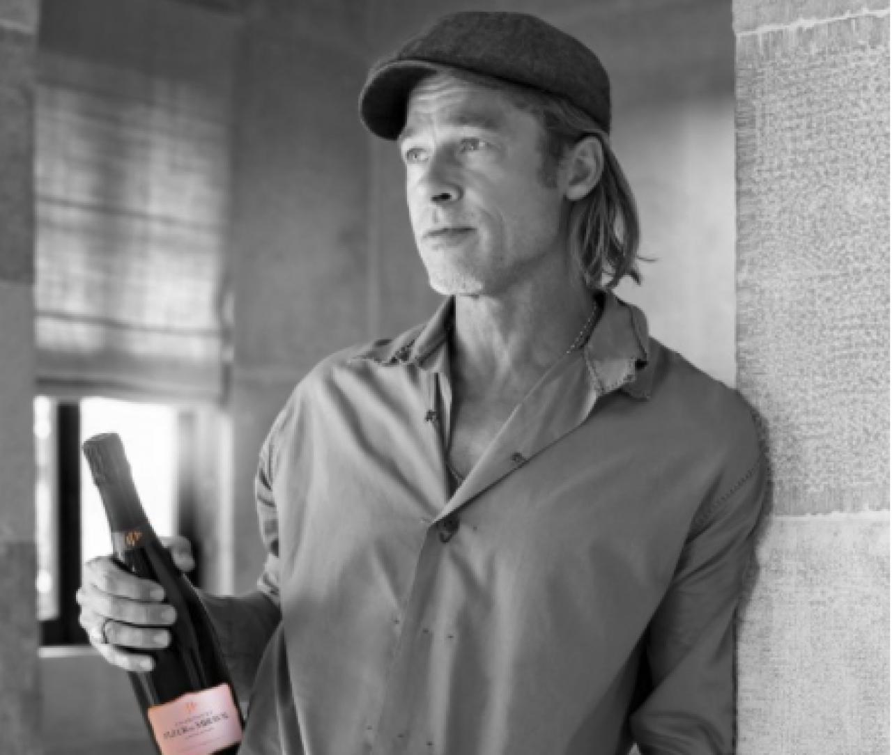 Brad Pitt launches new Fleur de Miraval Champagne