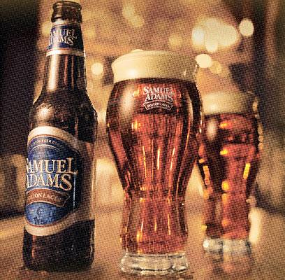 Samuel Adams beers