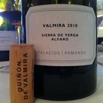 Alvaro Palacios' new single vineyard Garnacha,Valmira 2010
