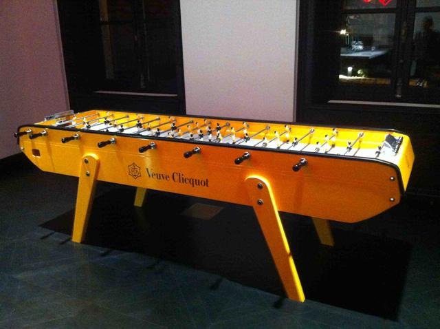 Veuve Clicquot table football