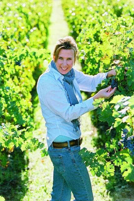 Gallo's chief winemaker Gina Gallo