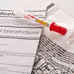 alcohol-breath-test kit