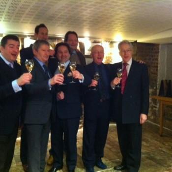 The UK wine press team
