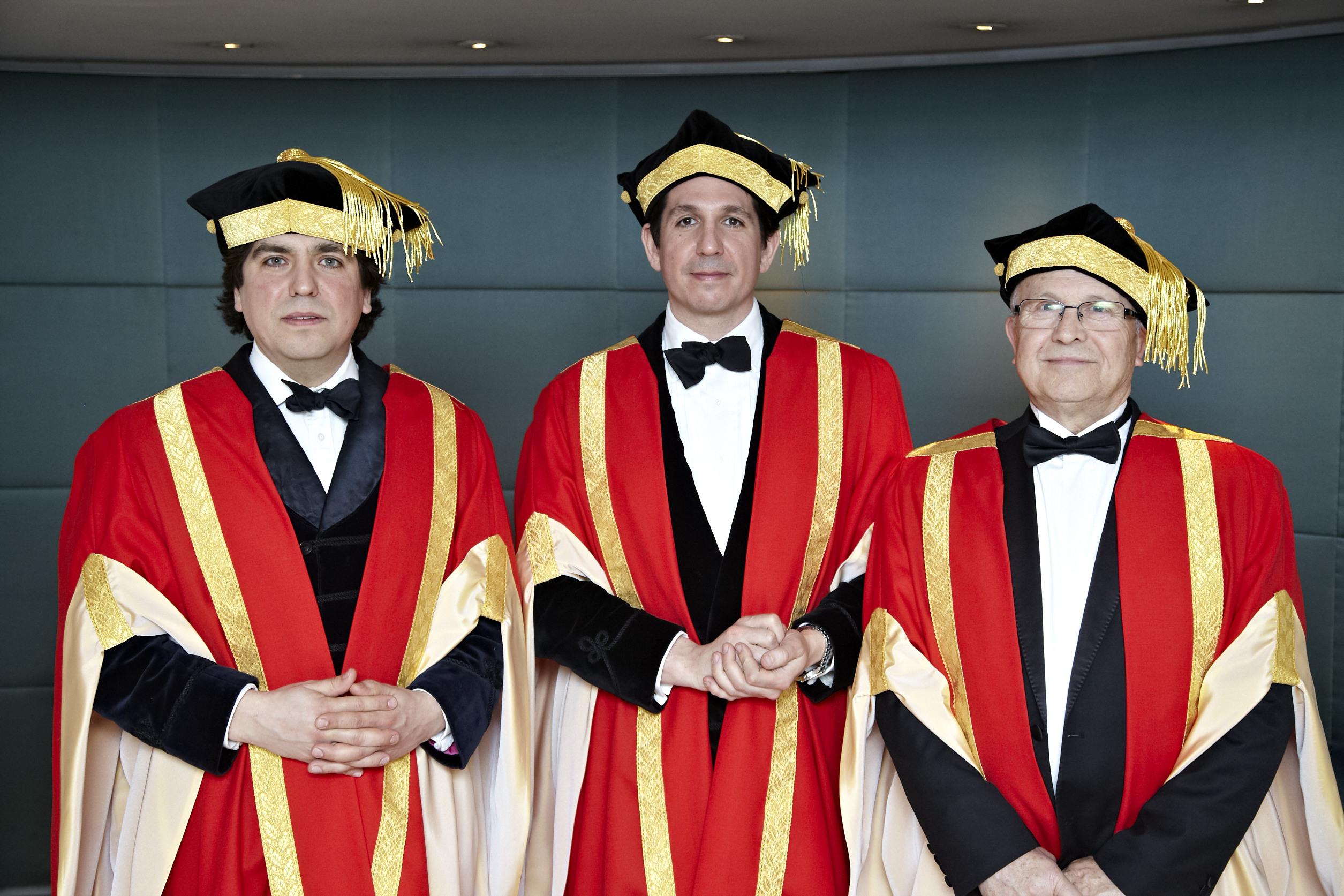 Caballeros honour three Spanish stars a70638cc328