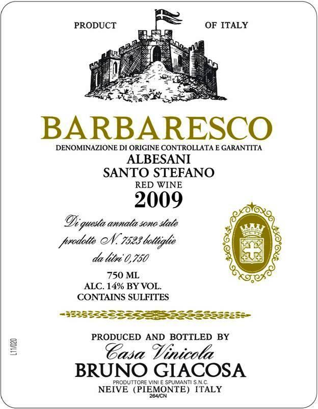 Giacosa Barbaresco Santo Stefano