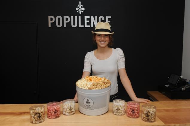 Poplulence's founder, Maggie Paulus