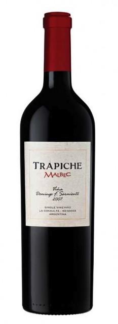 One of Trapiche's single vineyard Malbecs