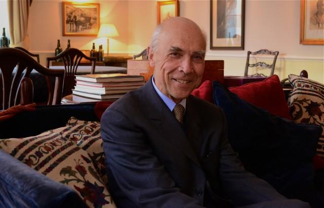 Co-owner and co-director of Domaine de la Romanée-Conti, Aubert de Villaine