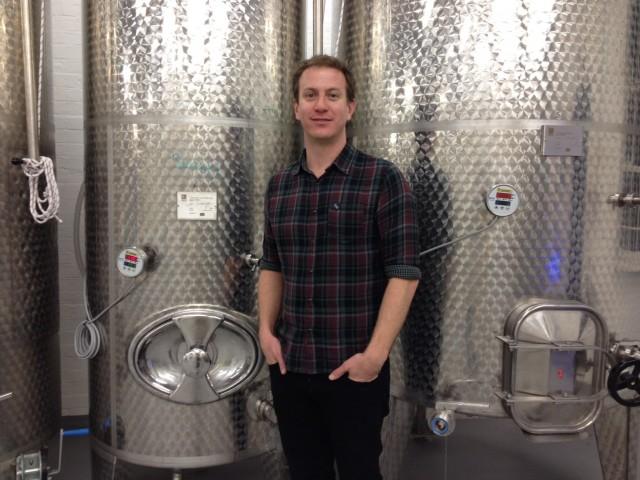 London Cru's winemaker, Gavin Monery