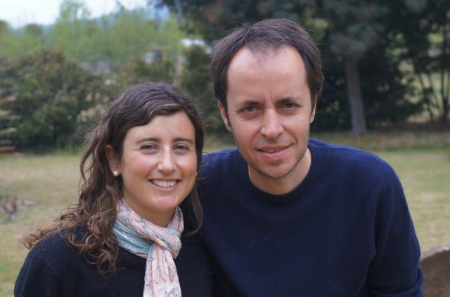 Ricardo Baettig and Isidora Morande