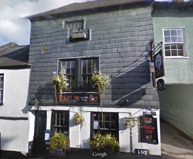 The Albert Inn, Totnes, Devon, where the brew will be debuted (Photo: Google)