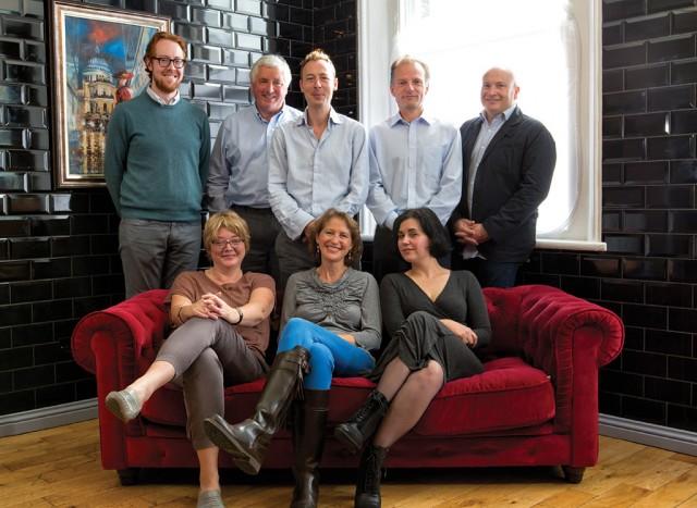 Judges Clockwise from top left: Alex Hunt MW, Sebastian Payne MW, Patrick Schmitt, Neil Sommerfelt MW, Ronan Sayburn MS, Beverly Tabbron MW, Beverley Blanning MW, Anne Krebiehl MW