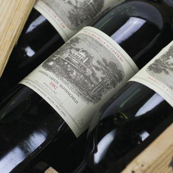 Lafite bottles