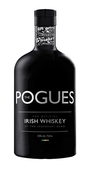 Pogues whiskey - white - mini