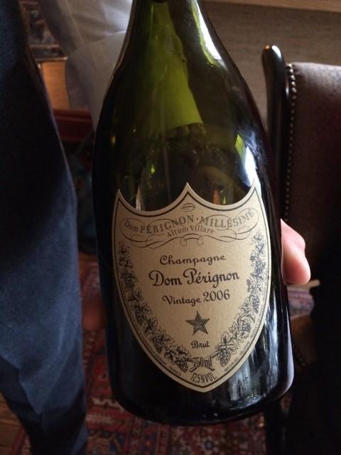 Just landed: Dom Pérignon 2006