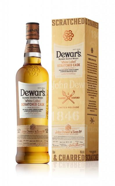 DEWAR'S(R) SCRATCHES ITS WAY TO A SMOOTH AND FLAVORFUL NEW SCOTCH (PRNewsFoto/DEWAR'S)