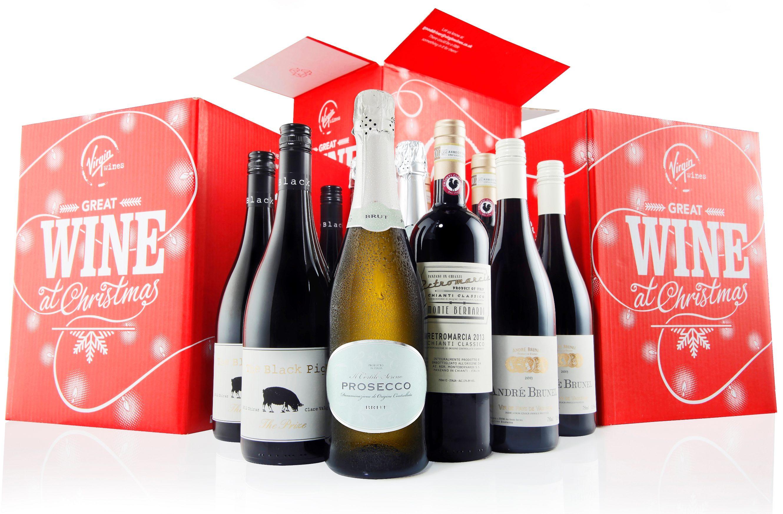 Wine Christmas Packaging.Virgin Wines Smashes Christmas Target