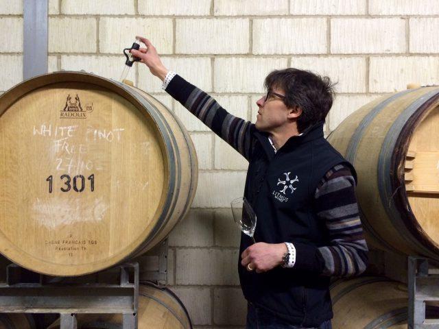 Denibies winemaker Matthieu